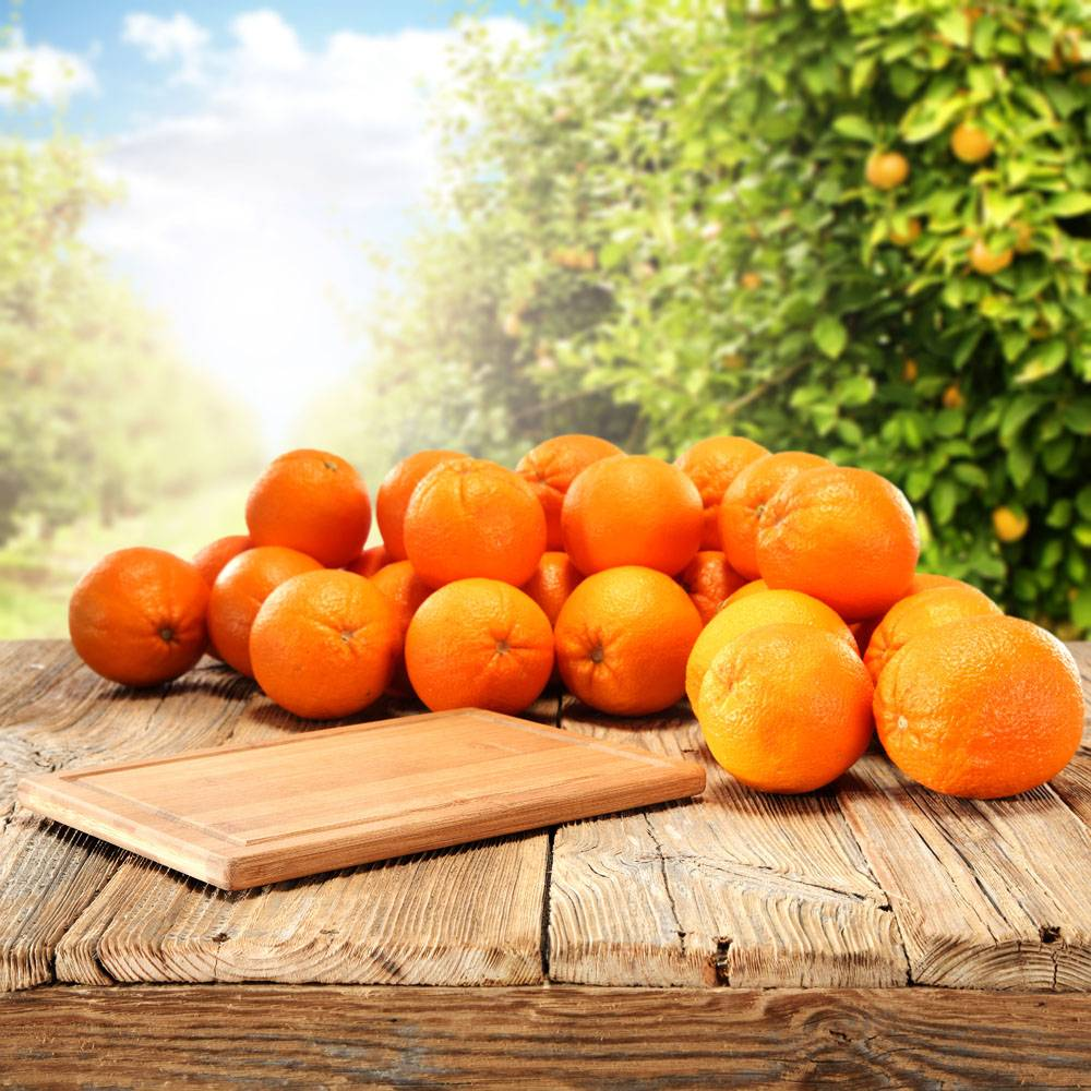 香甜诱人的橘子