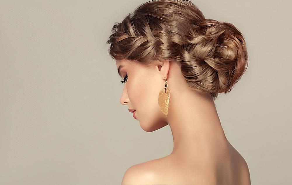 人染发金色头整形素材
