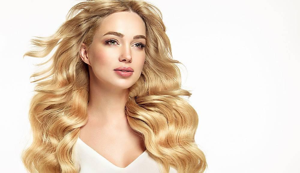 金发美女模特