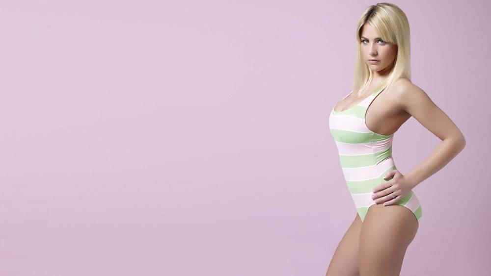 杰玛阿特金森,女性,女人,美女,金发,简单的背景,人物40734