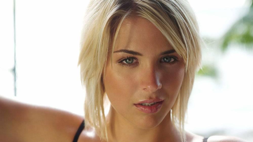 杰玛阿特金森,金发,人物,女性,女人,美女,看着观众,面对40756