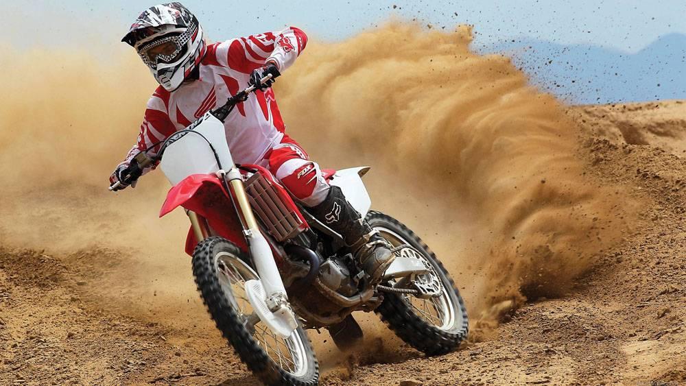摩托车越野赛,本田,本田cr,摩托车,污垢,赛跑,运动,体育90818图片