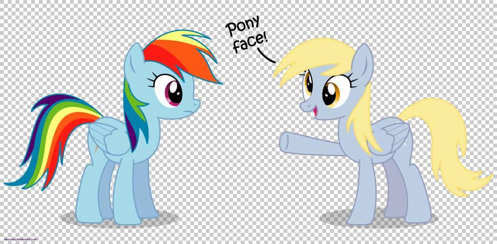 我的小马:友谊是魔术粉丝Rainbow Dash Horse Pinkie Pie,小马PN图片