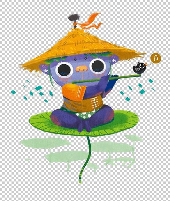 长笛Kappa PNG剪贴画儿童,动物,儿童,脊椎动物,插画,猫头鹰,卡通,图片