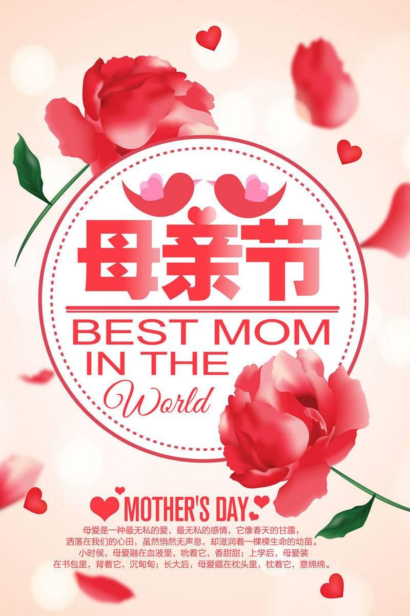 母亲节海报模板 (83)